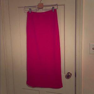 Chaus Sport Red Skirt